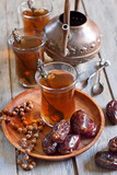 Arabic tea and dates