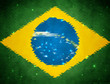 Abstract background with brasil flag colors