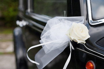 decoration flowers for wedding car