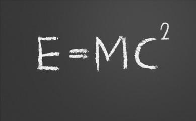 E=mc2. Theory of relativity