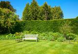 Fototapety Garden bench