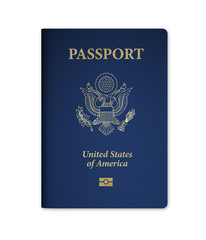 U.S. Passport with Microchip
