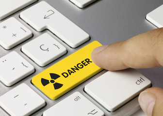 Nuclear danger. Keyboard