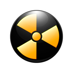 symbol of radioactive contamination