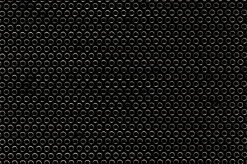texture circles on a black background