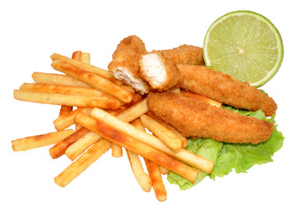Chicken Goujons And Fries