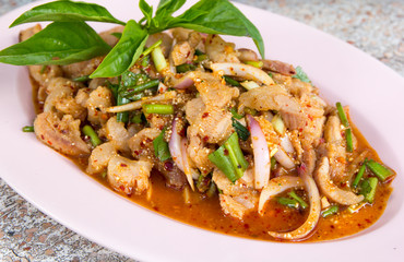 thai spicy food