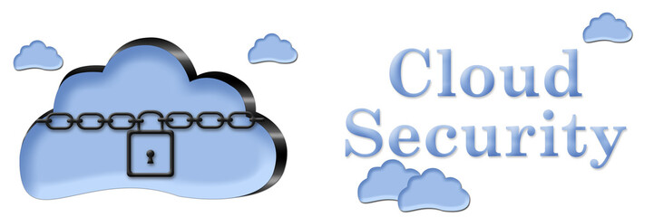 Cloud Security Chain Lock Banner