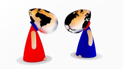 Weltanschauung, die Sicht der Dinge
