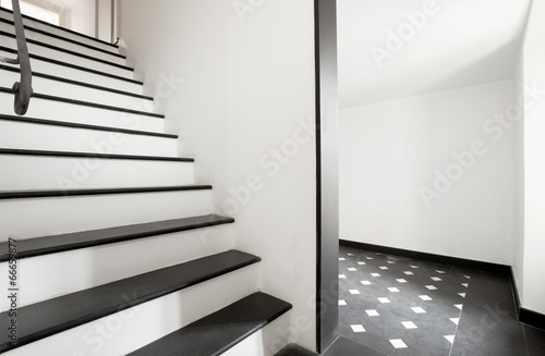 canvas print picture Staircase