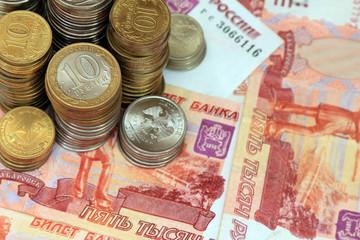 Российские банкноты и монеты