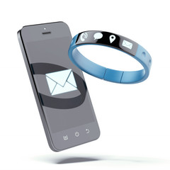 Smartphone and smart wristband