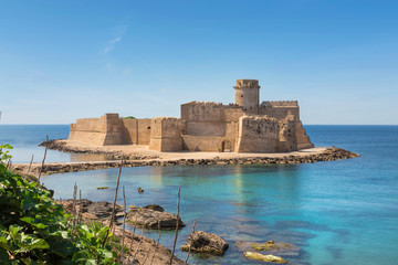 Le Castella at Capo Rizzuto, Calabria, Italy