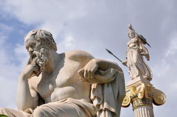 Socrates et Athena