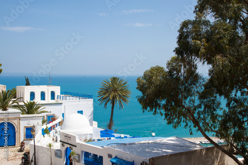 Fotobehang Tunesië Сиди бу Саид