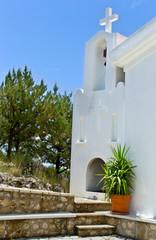 old church santorini greece