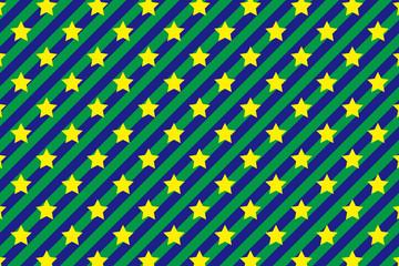 背景素材壁紙(縞, 縞模様, ストライプ, ストライプ模様, スター, 星の模様, カラフル)
