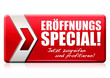 Eröffnungs-Special! Button, Icon
