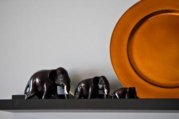 Статуэтки слонов / Figurines of elephants