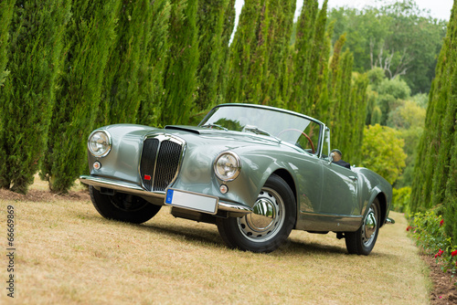 Foto op Aluminium Vintage cars seltene oldtimer cabriolet 1