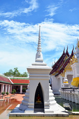Chedi at Phra Borommathat Chaiya Temple located in Surat Thani
