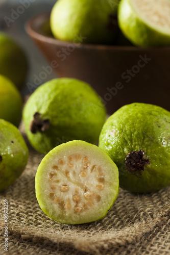 Fresh Organic Green Guava