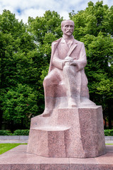 Monument to National Poet Rainis, Riga, Latvia