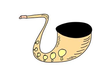 doodle saxophone