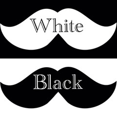Чёрное на белом или белое на чёрном