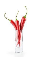 Chili Peppers and Glass