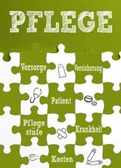 Thema : Pflege / Puzzle