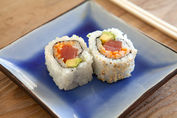 Spicy Tuna Avocado Roll