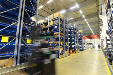 Lagerung von Industriegütern