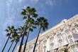 Leinwanddruck Bild - Hôtel à Cannes, French Riviera