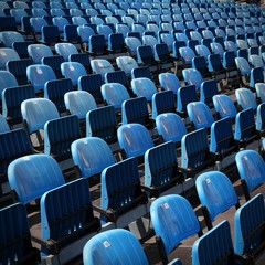 Venue - stadium chairs