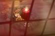 romantische Weihnachtsdeko im Fenster