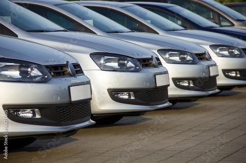 Leinwandbild Motiv Autos