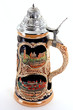 canvas print picture - German Beer Stein
