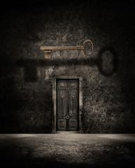 secret door key