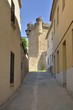 Way to the castle in Oropesa, Spain