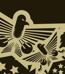 Imperial eagle emblem