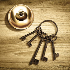 service bell keys