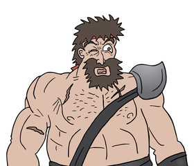 Muscle viking draw