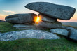 Kilmar Tor on Bodmin Moor in Cornwall