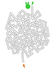 Maze vector design