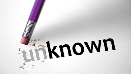 Eraser changing the word Unknown for Known