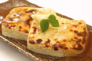 豆腐ステーキ 餡かけ 和食