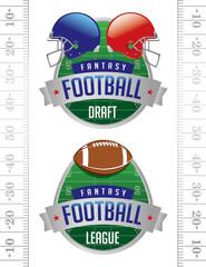 American Fantasy Football Illustrations