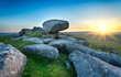 Sunset on Kilmar Tor