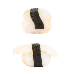Sushi nigirizushi isolated